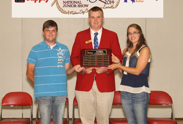 Coty Bell, AR  Tyler Pierson, MN Sarah Moore, IL